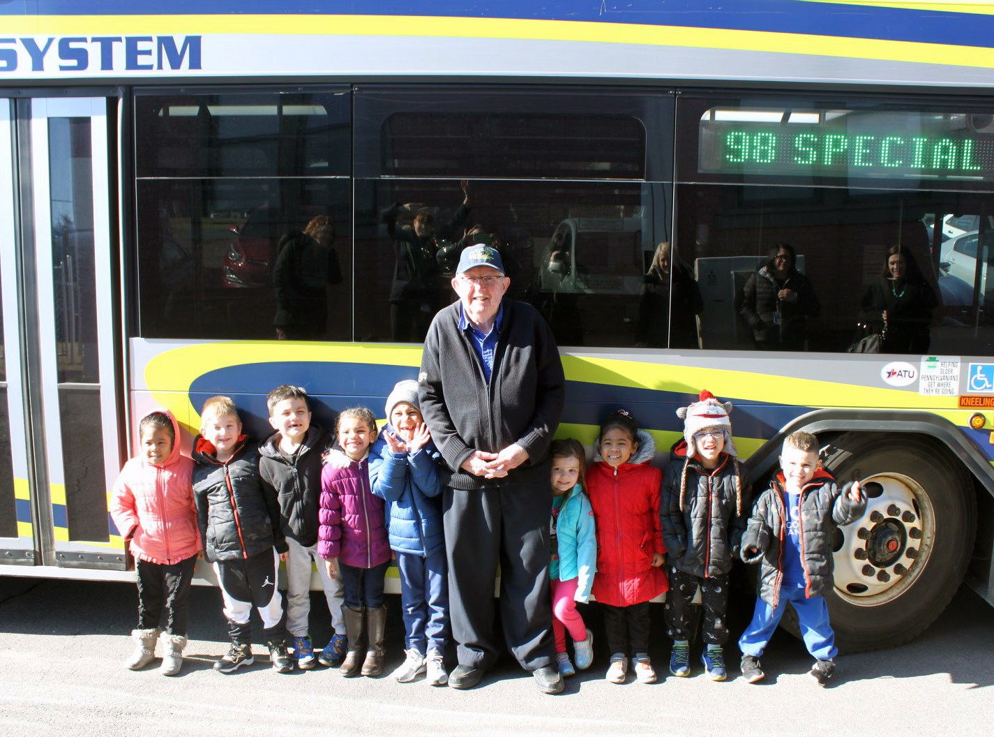 Travel Training with Pre-K Students: March 2019